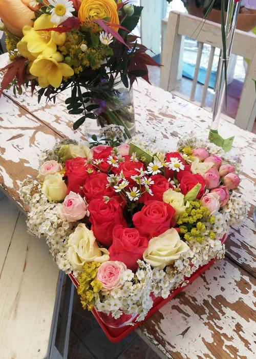 Blumen in der Box